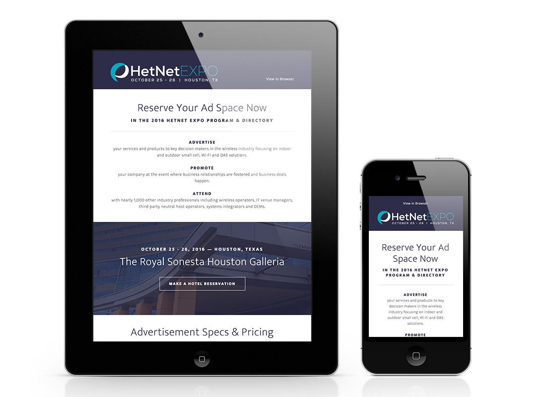 HetNet Email Promo Design