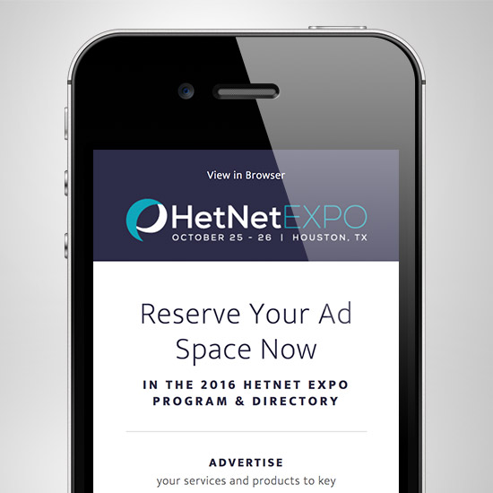 HetNet Expo Promo Email Html