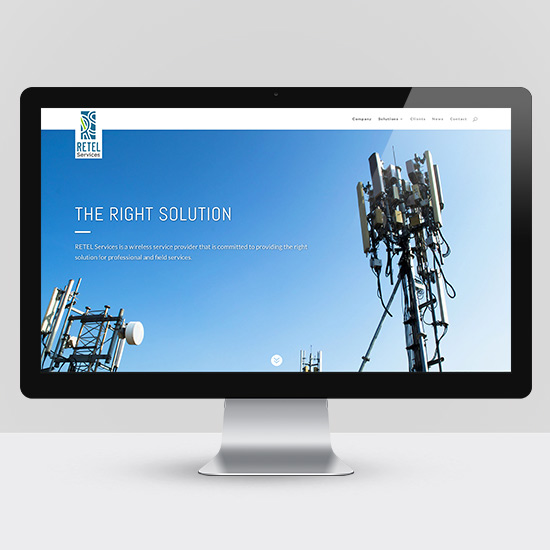 RETEL Services Website Design