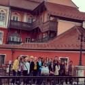 Group photo on Liars Bridge
