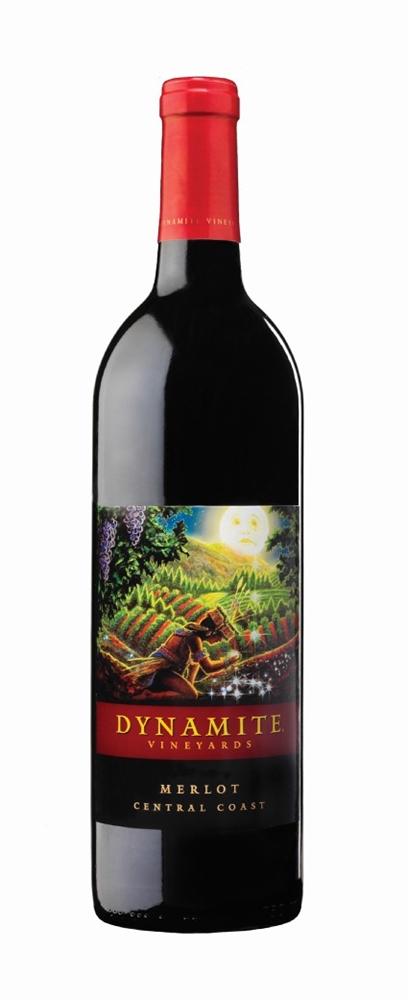 Dynamite Vineyards 2012 Merlot 750ml