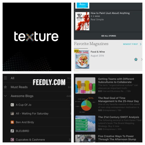 Texture feedly