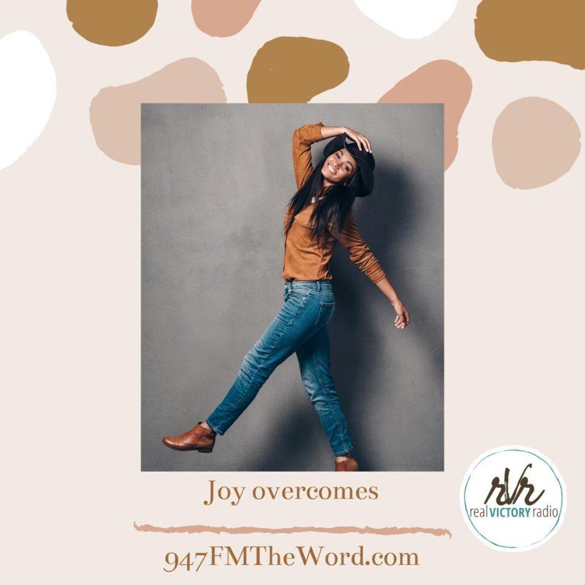 joy overcomes