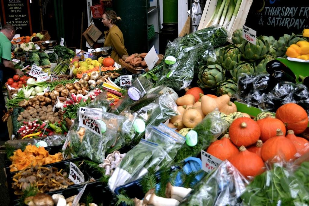Borough Market vegetables
