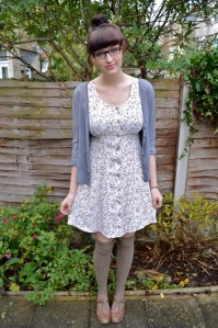Styling dresses in winter