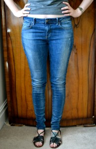 Topshop Tall Jaime jeans