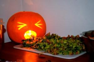 vomit pumpkin
