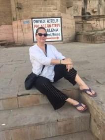 Amy In Varanasi