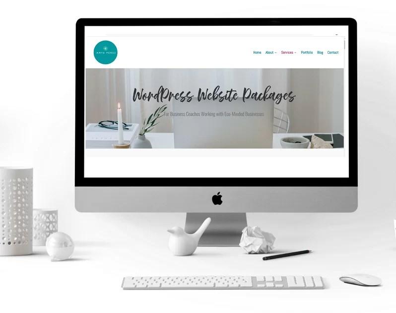 Amye Perez Website Designer