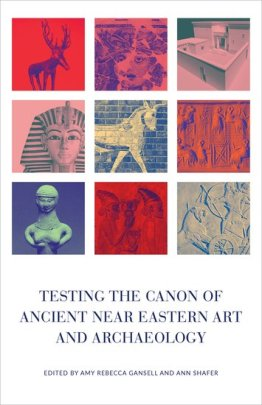 book cover showing ancient Near Eastern art and archaeology