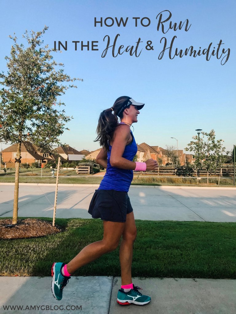 Running in the heat and humidity can be tough! Follow these tips to stay safe and avoid heat exhaustion while running in the warmer months. #runninginheat #hotweatherrunning #summerfitness #runningworkout #runningtips #runningmotivation