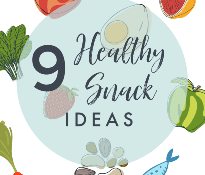 9 healthy snack ideas to satisfy any craving. Sweet, salty, savory, a little something for everything!