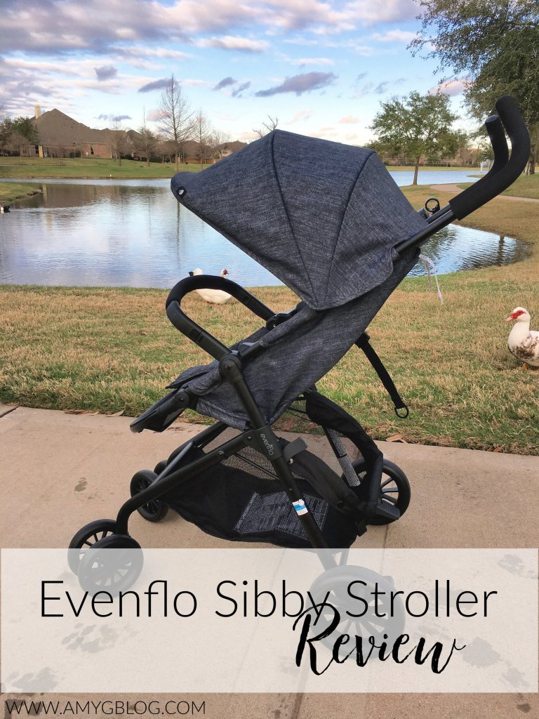 Evenflo Sibby Travel System stroller review