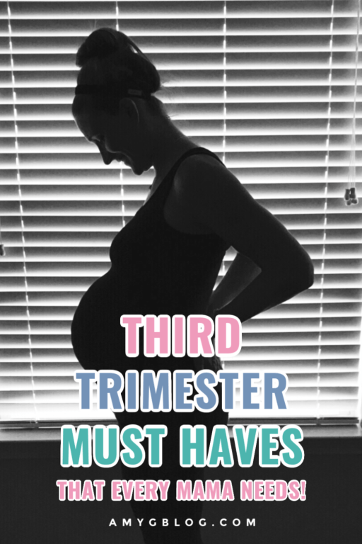 Every mama in the third trimester needs a few extra things to get them through the final weeks. These are my 3rd trimester must haves for my two summer babies! These helped me stay comfortable, healthy and active in my final weeks of pregnancy. #thirdtrimester #pregnancymusthaves #pregnancyitems #pregnantmom #pregnancygifts