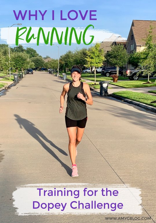 Why I love running. Many people look at me like I'm crazy or speaking in tongues when I say that I genuinely love running. There are so many things to love and appreciate about the sport when you look at it. These are the reasons I love running and why I'm training for the runDisney Dopey Challenge!