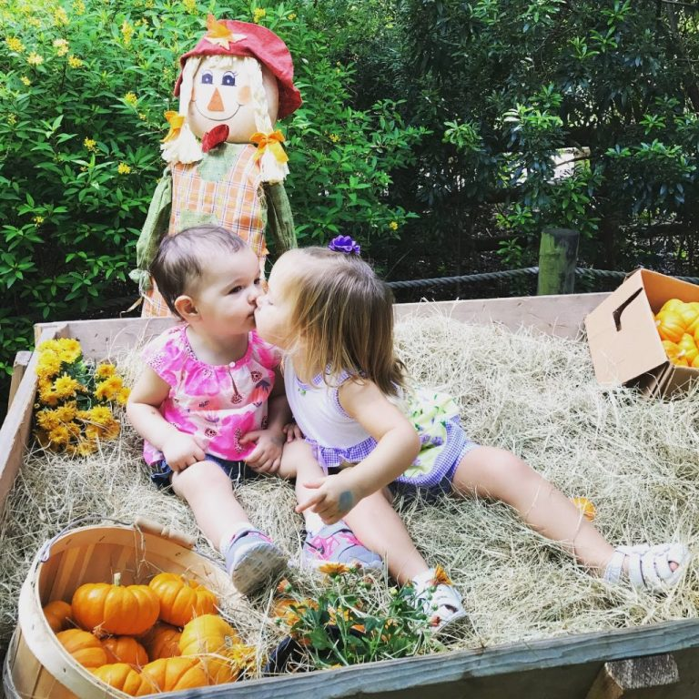 Best baby friends at the Houston Zoo Boo in 2017!