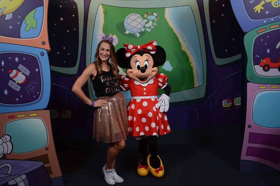 Take advantage of all the character meet and greets at Disney! Characters aren't just for the kids!