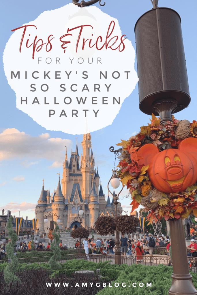 Mickey's Not So Scary Halloween Party is an awesome extra event put on by Disney World during September and October. You can trick or treat around the park, meet rare characters, eat special treats and ride all the rides with shorter lines! Here are some tips and tricks to planning out your best night at Disney!
