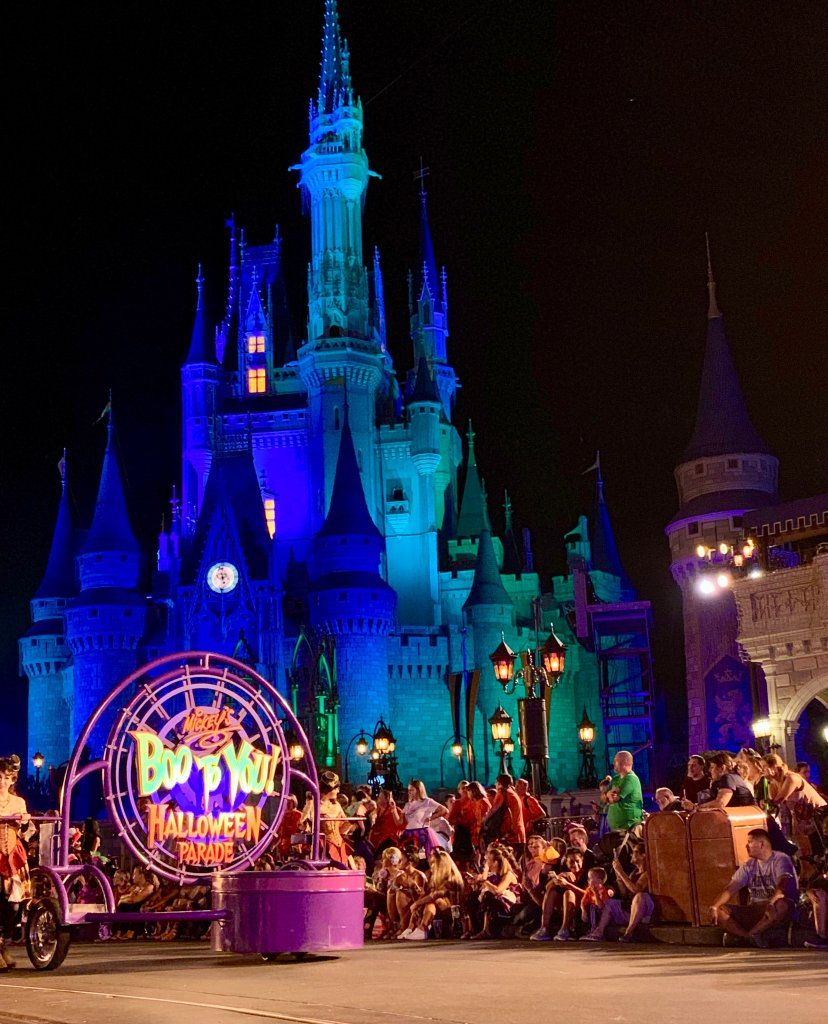 The Hocus Pocus Villain Spectacular and Mickey's Boo To You Halloween Parade are must sees at the MNSSHP!