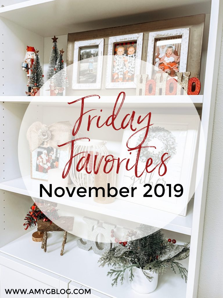Featuring some of my favorite things as of November 2019! Including Christmas decor, cozy sweaters and some must have home tech!