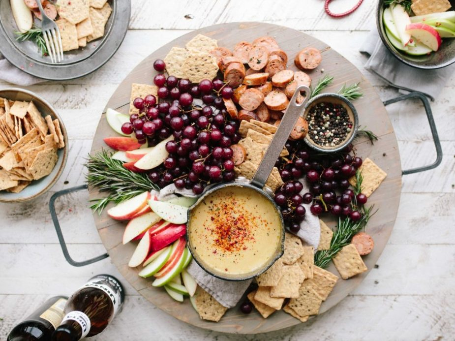 Remember that moderation is key this holiday season. Mix healthy snacks in with tasty treats when attending holiday gathering. The more colors you can add to your plate (not including colorful frosting and sprinkles) the better!