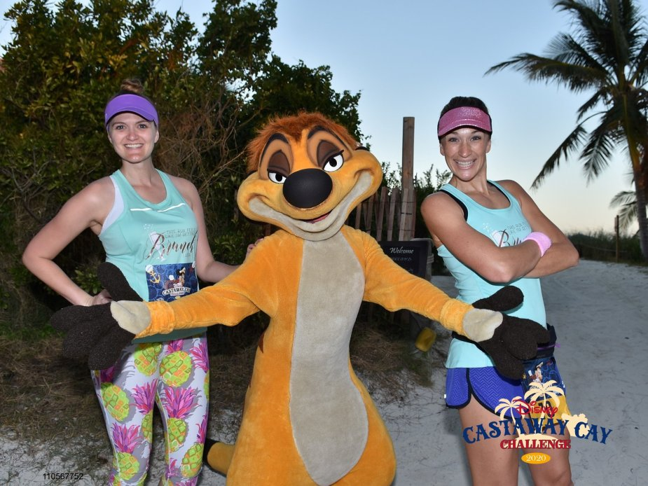 2020 runDisney Castaway Cay Challenge in the Bahamas immediately following marathon weekend.