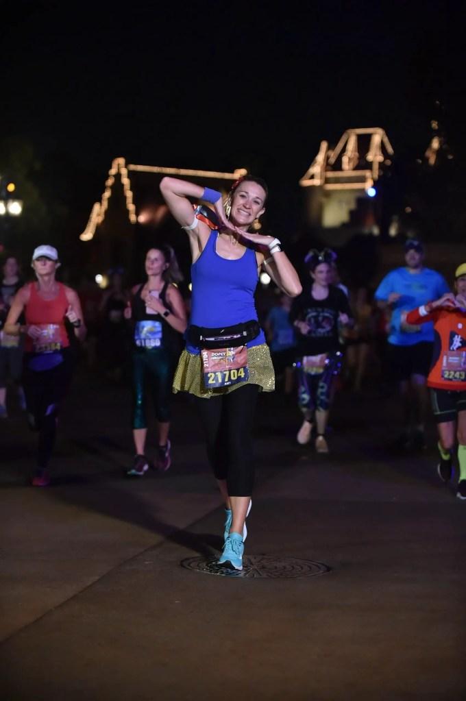 runDisney marathon weekend 10K costume Snow White!