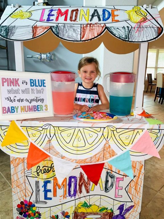 Chloe Grace Baby Lemonade Stand - March 2020