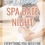 Everything you need for an at home spa date night with your loved one! #spadate #athomedatenight #relationships #relationshipadvice