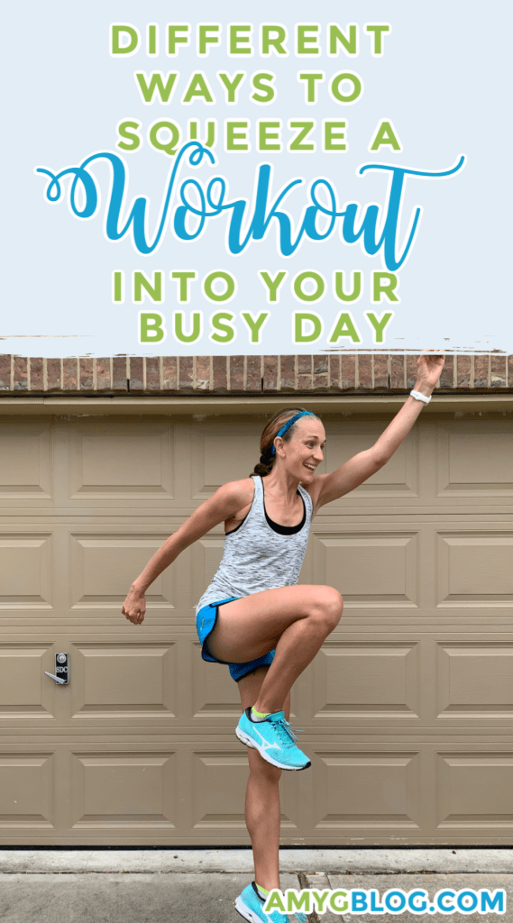 Our busy days have us choosing what we do have time for an what we don't. Don't let a workout be one of them! Fitness is essential to your health and in the long run, may give you more time every day as working out helps you become more alert! Take a look at these 8 ways to squeeze a workout into your busy day. You won't regret it. #getinaworkout #workoutanywhere #parkworkout #homefitness #fitlifestyle #healthylifestyle #fitnessfirst