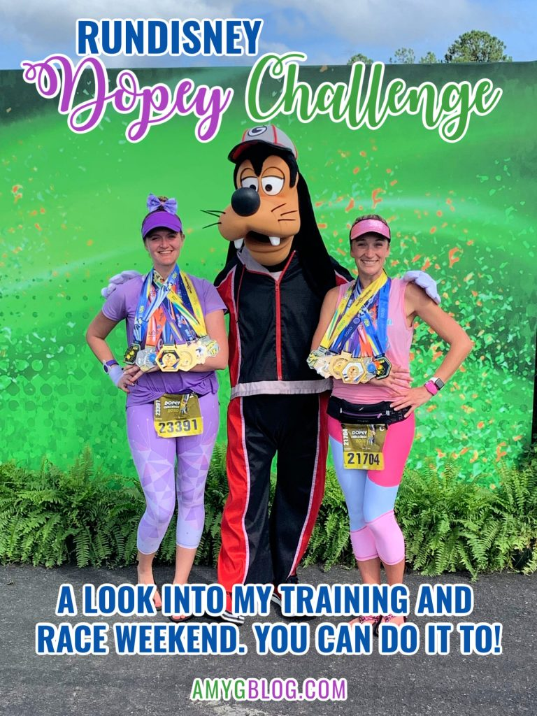 The runDisney Dopey Challenge is a physical feat like no other! There are a lot of tough training runs and days you don't want to do it, but every step is worth it. Here is a look at my training for this challenge along with the recaps of each of my races! #dopeychallenge #dopeychallengetraining #dopey2021 #howtotrainforthedopeychallenge