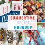 Get some of the most delicious summer recipes right here! Summer BBQ recipes and sides, summer cocktails and mocktails and delicious summer desserts that you won't be able to resist! #summerrecipeideas #summerreciperoundup #summercocktails #summer desserts #patrioticrecipes