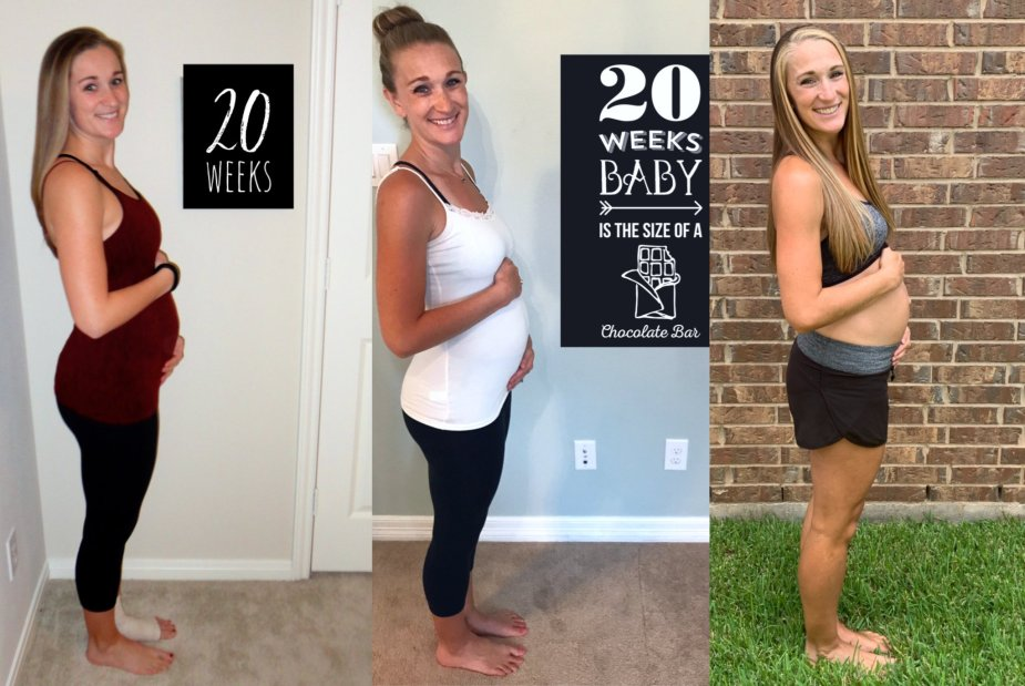 20 week bumpdate comparison between my three pregnancies!