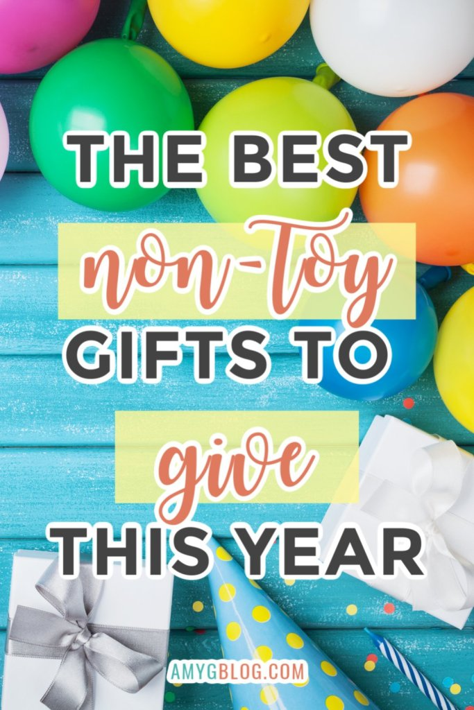 Take a look at some non-toy gift options and gift the gift of experience or opportunity. Help them create a new hobby or take them out. Here are some awesome gift ideas for the kid that has too many toys! #giftideas #kidsgifts #nontoygifts #giftexperiences