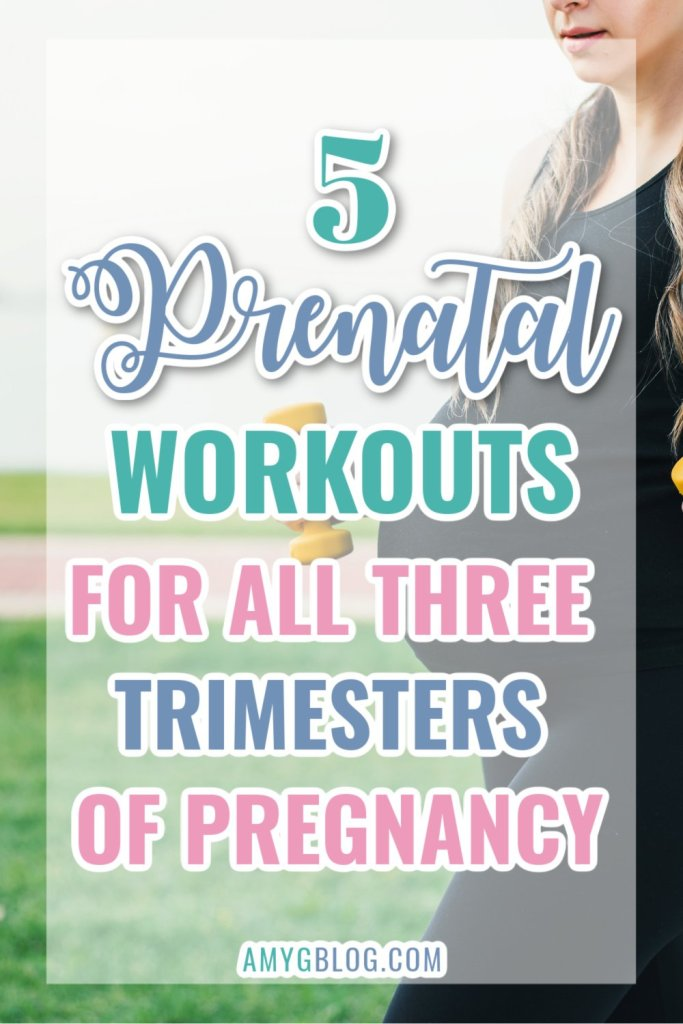 The 5 best total body prenatal + pregnancy workouts to ensure a fit pregnancy! Videos included! prenatal workouts | pregnancy workout | healthy pregnancy workouts | prenatal fitness | #prenatal #prenatalworkouts #prenatalfitness #pregnancy #pregnancyworkouts #pregnancyhealth