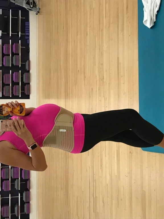 24 Week Bumpdate - Maternity Support Belt for musculoskeletal support!
