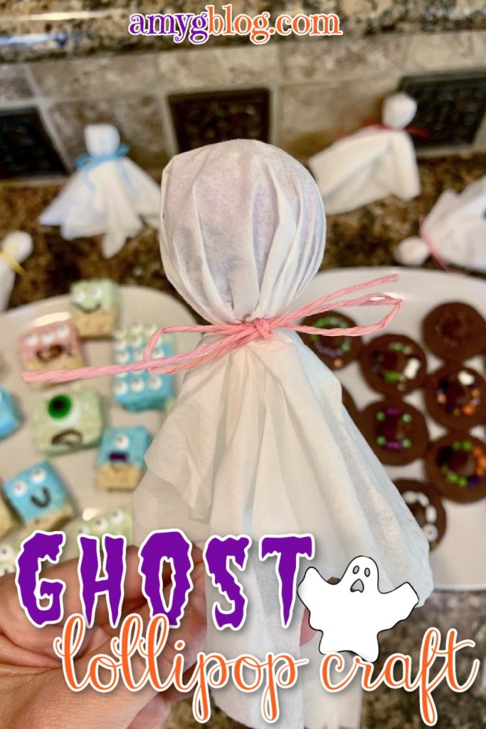 Just 3 items needed for this fun and simple Halloween craft for kids! Hand them out to friends or make this Halloween craft double as decor by tying several to a string to make garland!