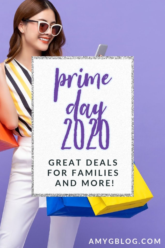 Prime Day 2020 is among us! Shop October 13&14 for some awesome steals and deals that you won't want to miss. Get a head start on holiday shopping now! Check back over Prime Day to see amazing deals for families. #primeday2020 #primedaydeals #amazonprime