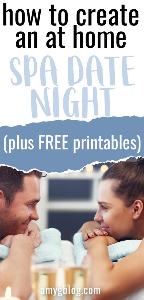 Take a look at everything you need to create a spa atmosphere for your significant other AT HOME! If you can't get a babysitter or you can't get out of the house, bring the spa to you! #valentinesdate #homedatenight #athomespadate #athomevalentinesday