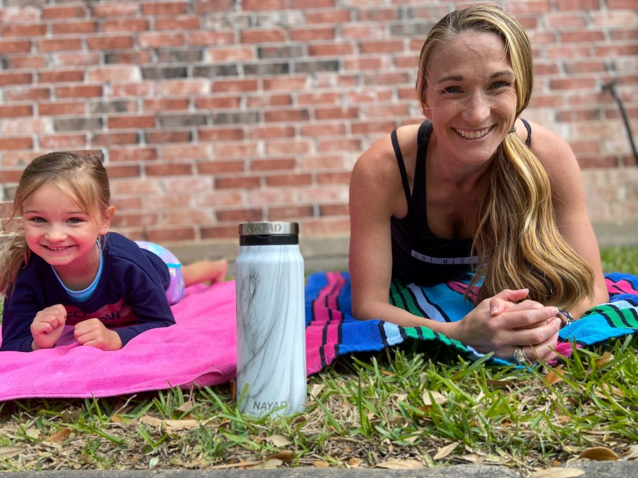 Water is the number one thing you need during your prenatal or postpartum workout! Make sure you have the best water bottle to keep with you all day!