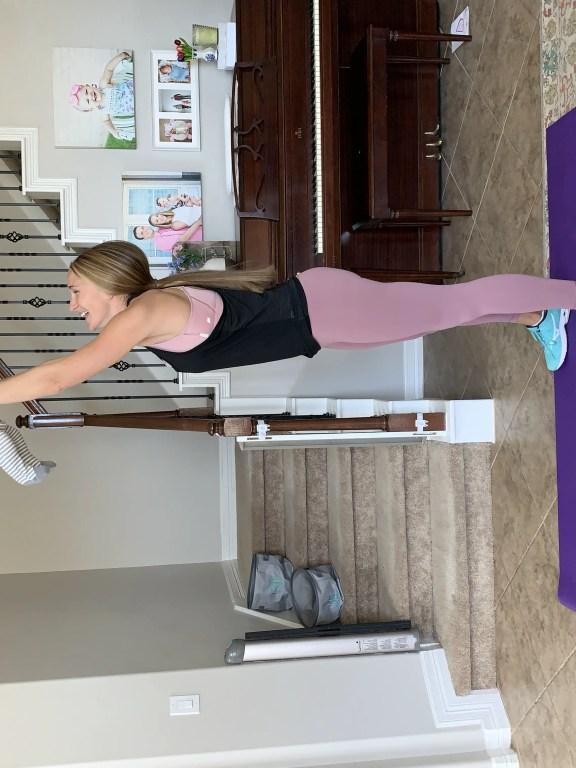 Postpartum fitness for moms