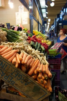 Fresh produce (finally!) at Central Market Hall - good produce is definitely much harder to find in the grocery stores