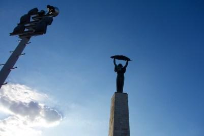 Liberty statue on Gellért Hill