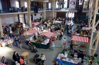 Farmer's market in Bratislava, Slovakia