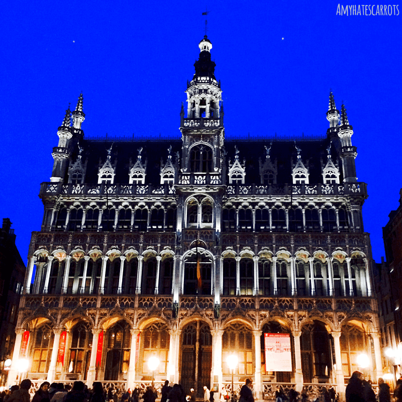 The Grand Place is Brussels is gorgeous! Make sure Belgium is on your travel bucket list!