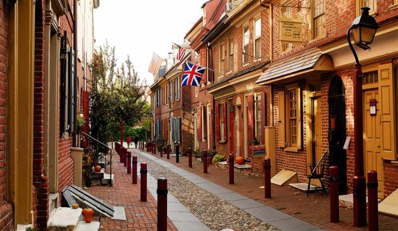 Elfreth's Alley is a must do when visiting Pennsylvania