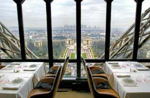 Dining at the Eiffel Tower Restaurant | Courtesy of eater magazine.ro