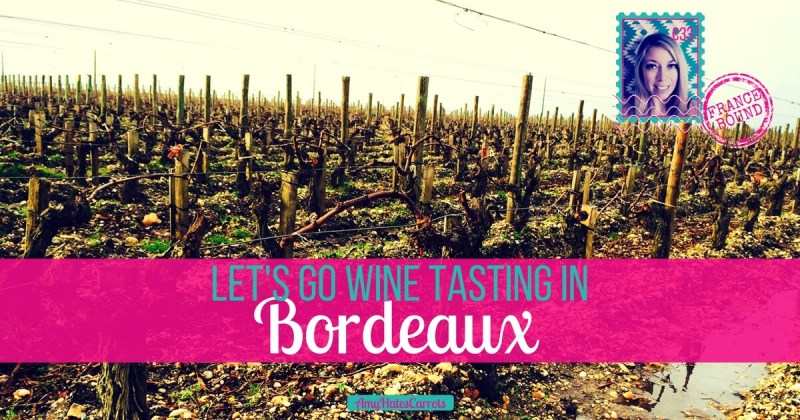 Let's go wine tasting! | Wine tasting in Bordeaux is a fabulous way to explore the French countryside. Taste the terroir in gorgeous chateaux while learning about the art of wine making from the French...à votre sauté! [Cheers!]