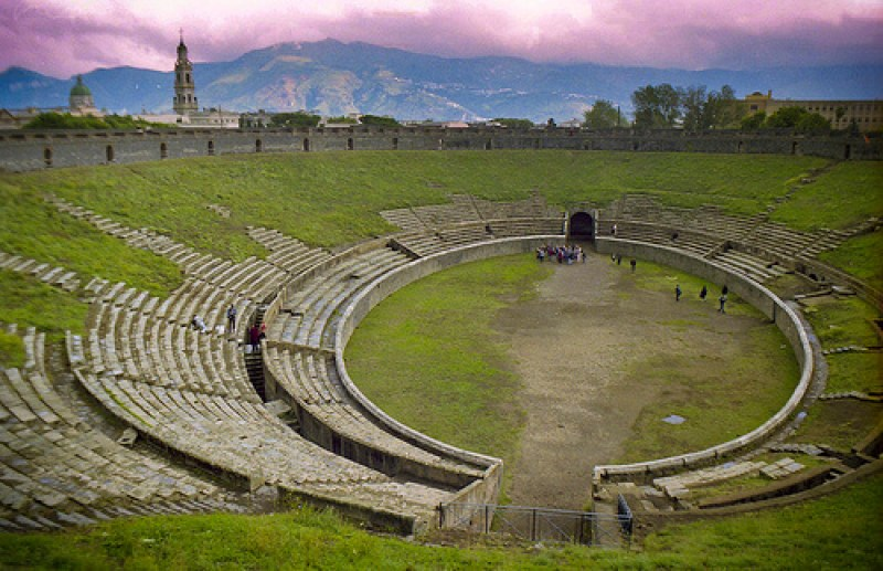 Pompeii Amphitheater   Courtesy of flickr.com