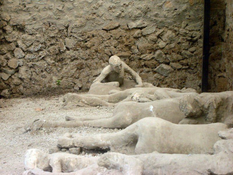 Garden of Fugitives in Pompeii   Courtesy of scoopwhoop.com